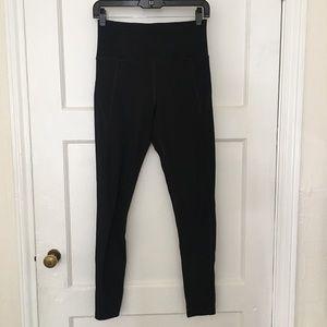 Girlfriend collective black full length leggings